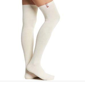 Hunter Original KS Knee High Sock In Cream